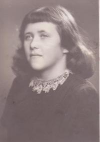 Sestra Libuše Hiemerové Božena (Kubíková)
