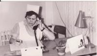 Sestra pamětnice Drahoslava Lošťáková, která byla také internována ve Svatobořicích