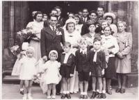 Svatba Libuše a Josefa Hiemerových
