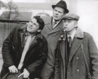 Main characters of the Three blokes in a cottage television series