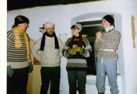 Petr Blažka na skautských jarních prazdninách. 1996.