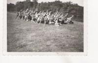 Exercise at the Scout camp 1937