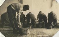 Drhnutí pískem: žánrová pohlednice z předválečné doby
