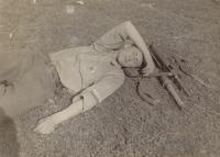 6. května 1945 – trávník u bývalého jezuitského dvora v Jičíně (dnes 4. ZDŠ)