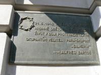 pamětní deska ve Smilově ulici - Bartoš