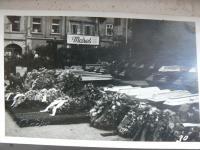 bombardování Pardubic, náměstí