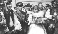 End of war celebrations