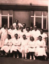 Pracovníci rtg. oddělení Bulovka