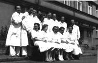 Pracovníci rtg. oddělení Bulovka II.
