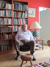 JUDr. Richard Belcredi v Brodku u Prostějova v dubnu 2012