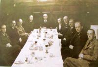 Jednání výboru Velkostatkářského svazu za účasti ministra Šrámka