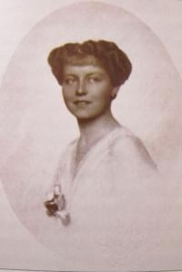 Matka pamětníka Marie Terezie Kálnoky, provdaná Belcredi