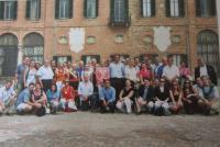 Rodinná sešlost v září 2009 aneb Belcredi u kořenů svých předků na zámku v Montaltu