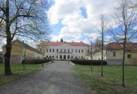 Zámek v Brodku u Prostějova, který vlastní hrabě Richard Belcredi
