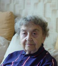 Mrs. Krupičková at home on April 30th, 2012