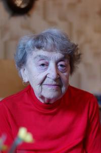 Mrs. Krupičková at home on May 8th, 2012