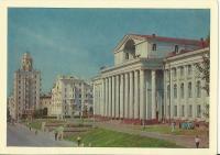 Poválečný Volgograd - Palác kultury