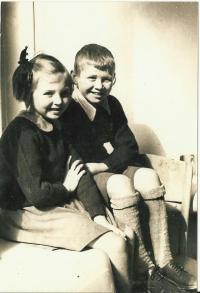 Josef Andres a Sylvie Laštovičková za války
