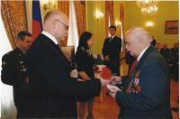 Josef Andres obdržel medaili