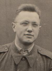 Kazimir Morozovič during his military service