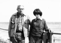 Tamas Lukach with his daughter, Krisztina