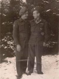Jaroslav Cimala (vpravo) a František Sikora