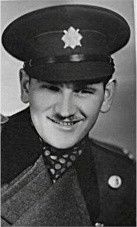 Jozef Citterberg v uniformě