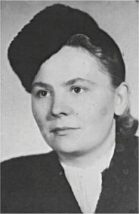 Věra Citterbergová, jeho žena