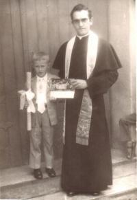 V kostele-biřmování