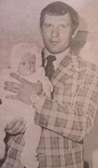 Jaroslav Kulíšek s dcerou