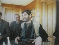 Jeden z únosců v Gruzii