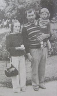 Manželé Kulíškovi s dcerou