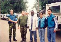 Pozorovatelé OSN v Gruzii
