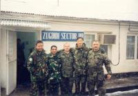 Pozorovatelé OSN v Zugdidi