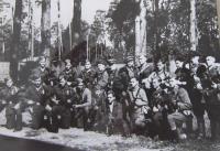 Desant I. čs. partyzánské brigády Jana Žižky ve Svjatošinu před vysazením na Slovensko