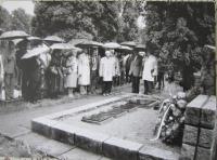 U Hrobu Jána Ušiaka v Čeladné