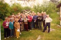 1996 Kružané na chalupě u Picků