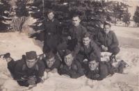 Jako partyzán v Bělorusku, leden 1943