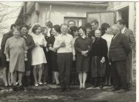 A wedding of doughter Milada