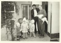 s rodinou, Břest 1981