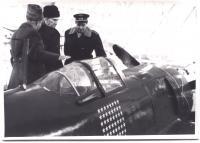 Letoun 3.hrdiny SSSR maršála Kožeduba.