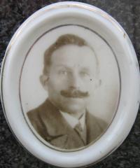 Alois Zatloukal , který byl jediným Čechem v osadě Urlich a jejím posledními trvalým obyvatelem