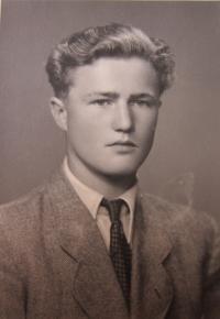 František Stanzel v mládí
