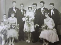Svatba Františka Stanzela a Christen Exlerové