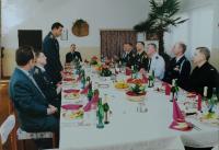 04 Oběd s vojenskou delegací USA