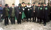 2007 Přemysl Filip s Černými myslivci Pobeskydskými (zcela vpravo)