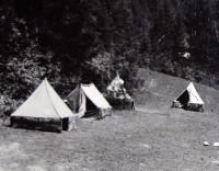 Tábor v Povinném na Slovensku