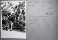 Tábor na Oravě ve Hlboké rok 1936
