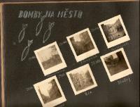 Ostrava po velkém náletu v roce 1944