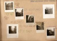 Ostrava v sutinách v roce 1944 po náletech